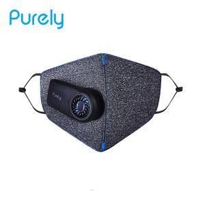 Rein KN95 Anti-Dunst-Luftsportmaske Elektrische frische Gesichtsmaske PM2.5 Staub ueberlegene Reinigung 3D e atmungsaktive Gesichtsbedeckung von Xiaomi Youpin One Size