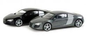 Herpa 033640 Audi R8, metallic 1:87