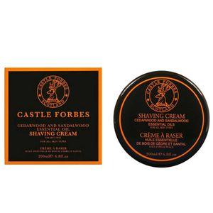 Castle Forbes Cedarwood and Sandalwood Rasiercreme 200 ml