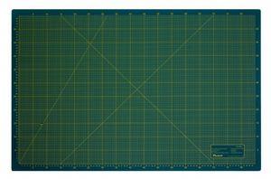Schneidematte 3-lagig und selbstheilend grün schwarz 100x200cm XXXL
