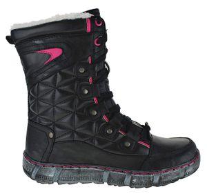 Art 828 Winterstiefel Stiefel Winterschuhe Damenstiefel Damen, Schuhgröße:36