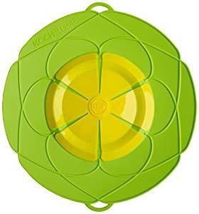 Kochblume das Original - der Überkoch-Schutzdeckel groß 33 cm Farbe Grün 72012.02