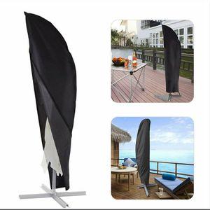 Sonnenschirmabdeckung im Freien, regen- und winddichter Bananenschirm, Oxford-Stoffschirm, Sonnenschirmabdeckung 57×48×25cm