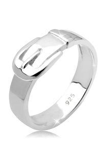 Elli Ring Gürtel Basic 925 Sterling Silber 56 mm Silber