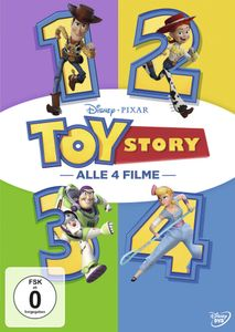 Toy Story 1-4 [DVD]
