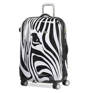 120 L Erweiterbar Bowatex Motiv Claymore Reisekoffer Zebra Pferd Groß