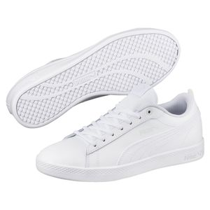 PUMA Smash Damen Sneaker Weiß Schuhe, Größe:39
