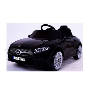 Mercedes-Benz CLS350 Schwarz Kinderauto Kinder Elektro Elektrofahrzeug mit Fernbedienung mp3, USB, 2x starke Motoren uvm.