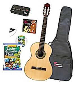 Voggy's Kindergitarren-Set, Gitarrengröße 1/2