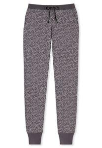 Schiesser Damen lange Schlafanzughose Loungehose Jerseyhose Lang - 163098, Größe Damen:40, Farbe:braungrau