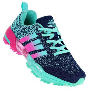 Art 981 Neon  Turnschuhe Schuhe Sneaker Sportschuhe Neu Damen, Schuhgröße:41