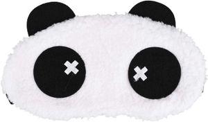 Cute Panda Schlafmaske Soft Plüsch Augenbinde, Lustige emoticons Schlafmaske Augenmaske Augenabdeckung für Mädchen Jungen Frauen Männer Kinder Zuhause Schlafen Reisen, Schwindlig