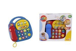 SIMBA ABC Telefon mit Sound Kindertelefon Babytelefon Spieltelefon ab 6 Monate