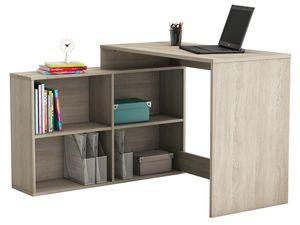 """Eckschreibtisch Schreibtisch Arbeitstisch Bürotisch Tisch """"Dewirovo I"""" (Sonoma/Eiche)"""