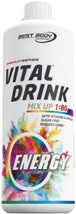 Best Body Nutrition Vital Drink, 1000 ml Flasche Energy