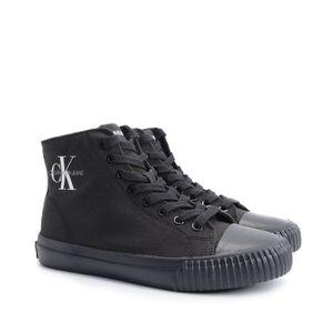 """Calvin Klein Sneakers """"Icaro Canvas"""" -  S0594 - Schwarz-  Größe: 45(EU)"""