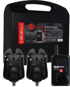 Carp Sounder ROC XRS ACC Bissanzeiger-Set 2+1 versch. Farben