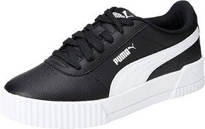 Puma Carina L Damen Sneaker Leder Schuhe 370325 Schwarz, Schuhgröße:39 EU