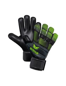 erima SKINATOR Hardground, Größe:4, Farbe:schwarz/green gecko
