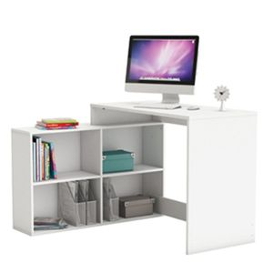 Eckschreibtisch weiss PC Computertisch Kinder- und Jugendmatratzeschreibtisch Jugendschreibtisch Bürotisch Jugendzimmer Kinder- und Jugendzimmer