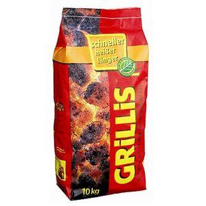 proFagus Grillis 3 kg - Kohlebriketts aus Buchenholz