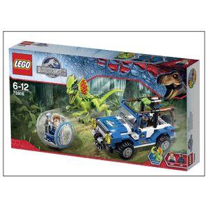 Lego 75916 Jurassic World - Hinterhalt des Dilopho