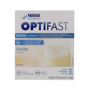 OPTIFAST Drink, 8 x 55g - Vanille