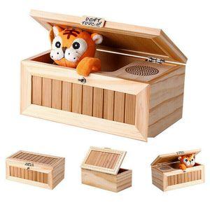 Kleine Tiger langweilige Box Spielzeug Mit Sprachfunktion Kinderspielzeug, Kindergeschenke Kreatives Spielzeug der Karikatur