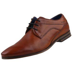bugatti Herren Business-Schuhe Braun, Schuhgröße:EUR 42