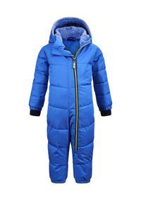 killtec Kinder Skianzug Twinkly MNS ONPC B, Farbe:neon-blue, Größe:110/116