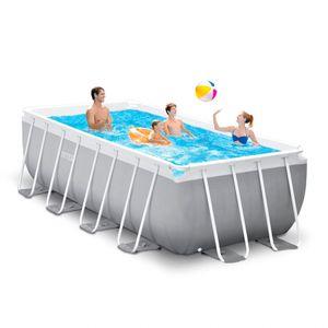 Intex 26790 Prisma Frame Premium oberirdischer Pool rechteckig