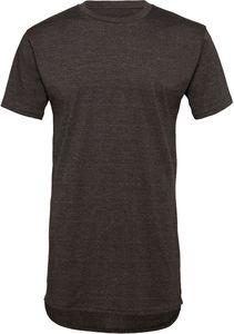 Bella+Canvas Herren Long Tee T-Shirt extra lang 3006 Grau Dark Grey Heather L