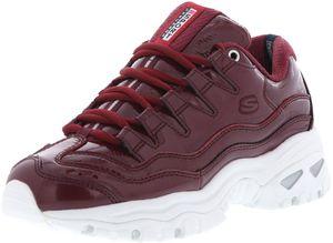 SKECHERS 13405/BURG Energy-Thriller Knight Damen Sneaker weinrot/weiß, Größe:37, Farbe:Rot