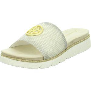 Bugatti Damen-Pantolette Kiko Beige, Farbe:beige/schlamm, EU Größe:38