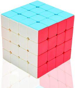 Zauberwürfel 4x4 Stickerless, Speed Cube 4x4x4 Puzzle Würfel Spielzeug