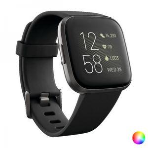 Fitbit Versa 2, 3,55 cm (1.4 Zoll), AMOLED, Touchscreen, WLAN, 38 g