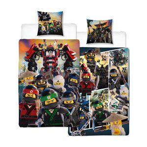 Lego Ninjago Action Bettwäsche Linon / Renforcé