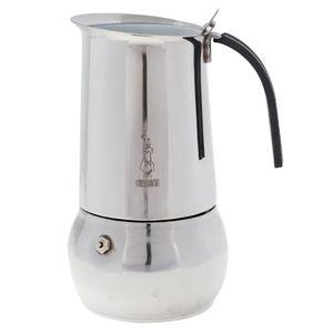 BIALETTI EDELSTAHL ESPRESSOKOCHER für 10 Tassen Induktion Espresso Maker KITTY
