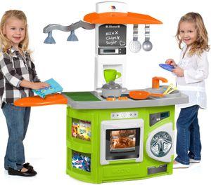 Molto Spielküche mit Lichteffekt Kinderküche Waschmaschine Herd Backofen Küche Kinder