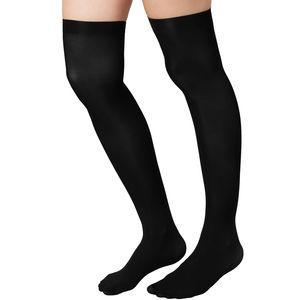 dressforfun Overknee-Strümpfe schwarz - schwarz