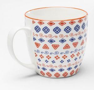 KARE Tasse Art Cuisine Colore 450 ml, Farbe:orange