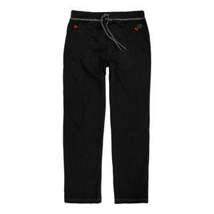 Herren Jogginghose lang von Adamo Serie Markus in großen Größen bis 14XL und in Langgrößen bis 122, Größe:114, Farbe:Schwarz
