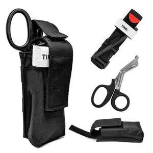 3-in-1-Trauma-Kit Tourniquet mit Trauma-Scher- und Aufbewahrungsbeutelhalter Tactical Emergency First Aid Kit fuer den Aussenbereich