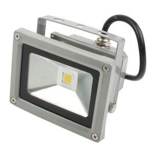 ECD Germany 20 Stück LED Flutlicht Strahler Außen 10W - 2800K WarmWeiß - Wasserdicht IP65 - Superhell - Outdoor Sicherheitsleuchte - Fluter Außenstrahler Scheinwerfür Flutlichtstrahler Baustrahler