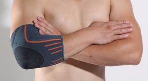 Ellenbogenbandage Bandage Ellbogen Tennisarmbandage Sportbandage Armbandage Größe S