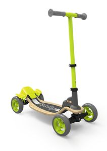 Smoby Wooden Scooter 4 Räder