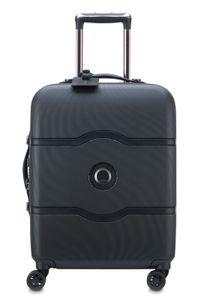 Delsey Chatelet Air 4-Rollen Kabinen Trolley Boardcase 55 cm 00 1672 803, Farbe:Black