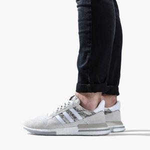 adidas Originals ZX 500 RM Herren Sneaker Grau Schuhe, Größe:45 1/3