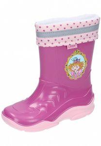 Prinzessin Lillifee Kinder Gummistiefel gefüttert Schuhe pink
