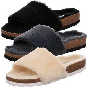 Rohde Damen Pantoffeln Hausschuhe Alba 6060, Größe:39 EU, Farbe:Beige
